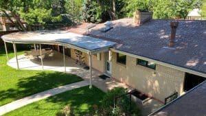 a uniquely built Denver roof