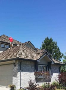 Woodshake roof in Arvada CO