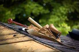 Roof of a homeowner who needed insurance claim help
