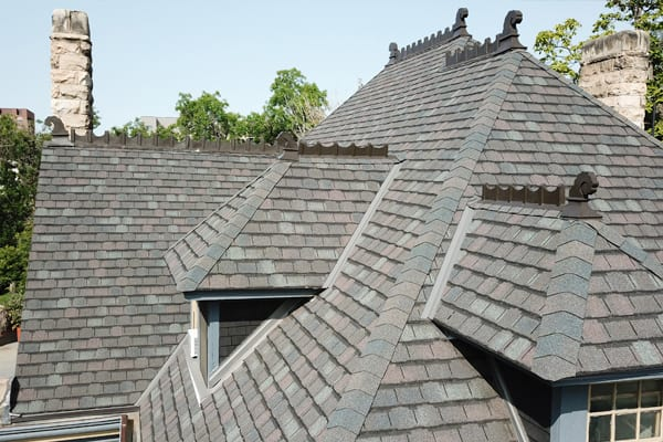 gray shingles on denver roof replacement